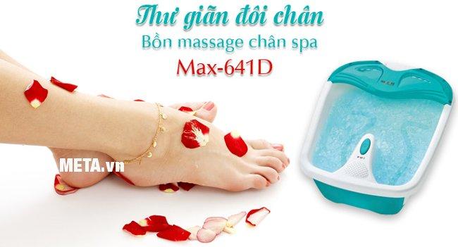 Bồn ngâm massage chân Max-641D