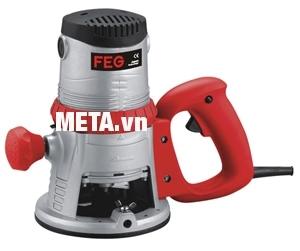 Máy soi gỗ FEG EG-313A với thiết kế cải tiến ở đầu kẹp gỗ.