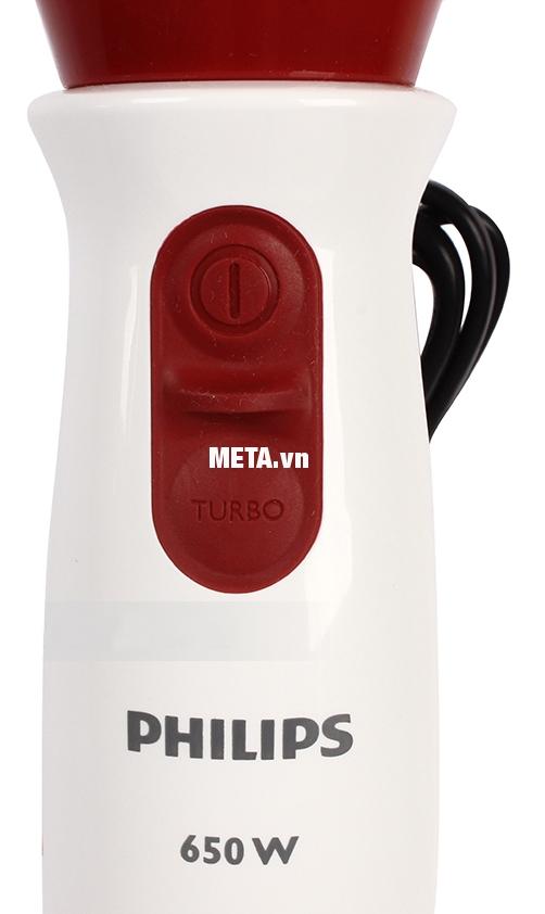 Máy xay cầm tay đa năng Philips HR1625 hoạt động mạnh mẽ với công suất 650W