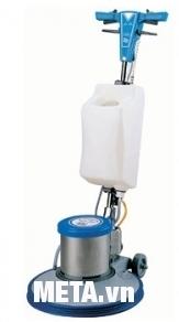 Máy chà sàn công nghiệp V-JET D 154 (A005) giúp vệ sinh sàn sạch bóng.