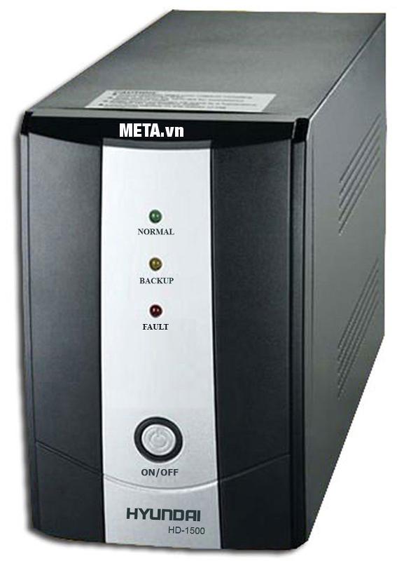 Bộ lưu điện UPS offline Hyundai HD-1500 cung cấp điện áp ổn định.