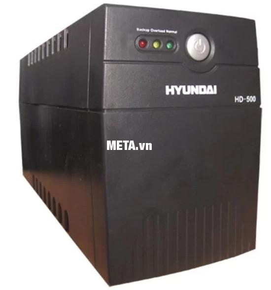 Bộ lưu điện UPS offline Hyundai HD-500 cung cấp điện năng ổn định cho gia đình.