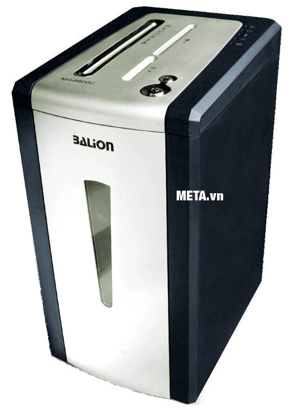 Máy hủy tài liệu Balion NH-8800C đem lại sự chuyên nghiệp cho văn phòng của bạn.