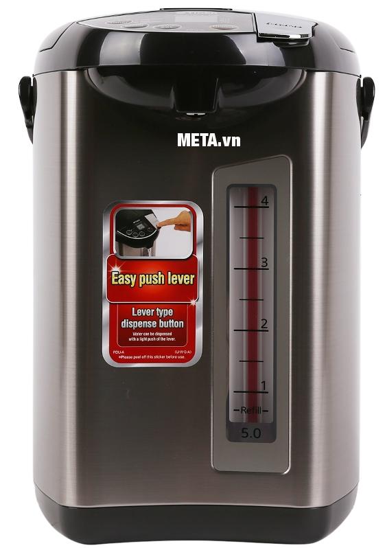 Bình thủy điện Tiger PDU-A50W 5 lít tự động chuyển qua chế độ giữ ấm khi nước sô