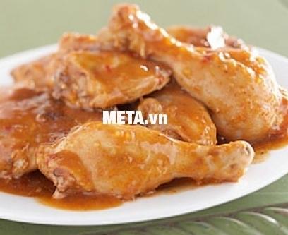 Nồi nấu cháo đa năng Hàn Quốc BBcooker BS15 nấu món đùi gà nấu chậm