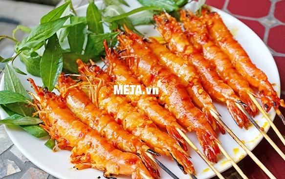 Vỉ nướng BBQ Steba VG 200 nướng thực phẩm cực nhanh, nên đáp ứng được nhu cầu sử dụng của gia đình đông người.