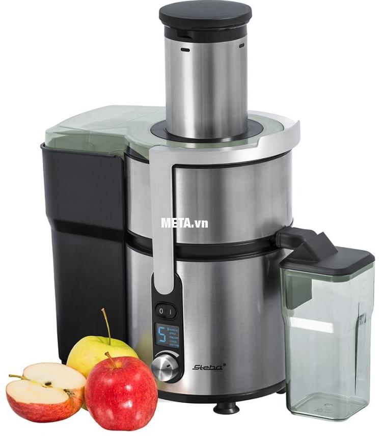Máy ép trái cây Steba E160 được bình chọn thuộc Top sản phẩm máy ép hoa quả tốt nhất tại Đức.