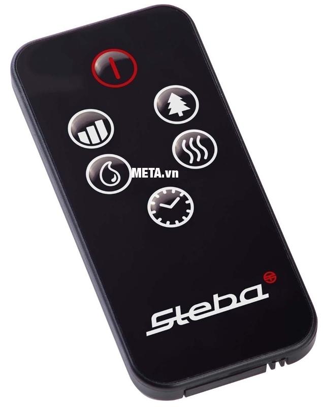 Máy tạo ẩm Steba LB5 có điều khiển từ xa tiện dụng.