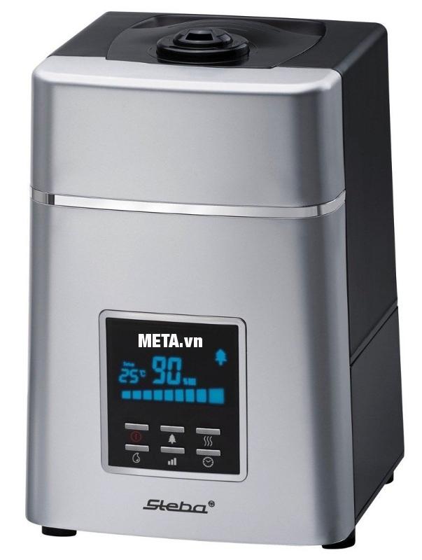 Máy tạo ẩm Steba LB5 sử dụng đơn giản với màn hình LCD lớn.