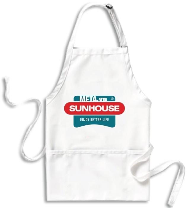 Tạp dề Sunhouse thích hợp cho người nội trợ khi nấu bếp, dọn dẹp