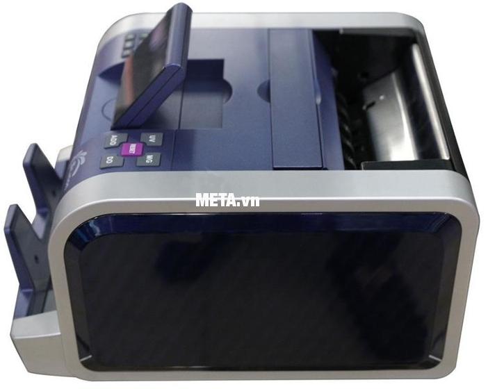 Máy đếm tiền Silicon MC-2300 được tích hợp công nghệ phát hiện tiền giả với độ chính xác tuyệt đối.