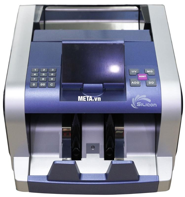 Máy đếm tiền Silicon MC-2300 đếm tiền hoàn toàn tự động.