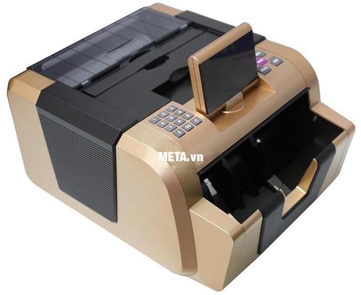Máy đếm tiền Silicon MC-2900 đếm được nhiều loại tiền khác nhau.