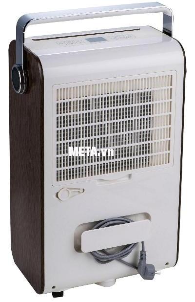 Máy hút ẩm công nghiệp FujiE HM-930EC có chỗ quấn dây điện tiện dụng.