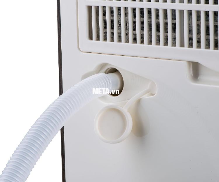 Máy hút ẩm công nghiệp FujiE HM-930EC dễ dàng tháo màng lưới để vệ sinh.