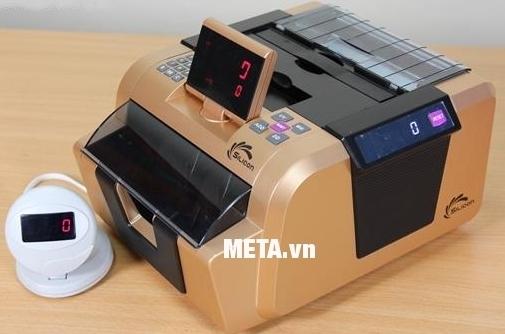 Màn hình kéo dài của máy đếm tiền Silicon MC-2900