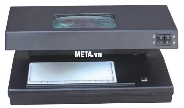 Máy kiểm tra tiền giả UV, MG Silicon MC-182 có màu đen sang trọng và đẹp mắt.
