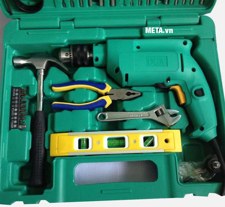 Hộp dụng cụ của máy khoan búa DCA Z1J-FF02-13.