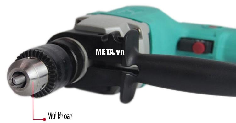 Thiết kế mũi khoan 13mm của máy khoan 500W DCA AZJ13 (Z1J-FF-13)
