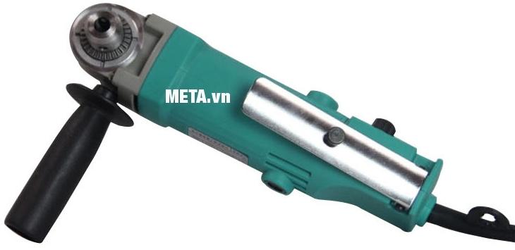 Máy khoan góc DCA AJZ06-10 (J1Z-FF06-10) có tay nắm phụ giúp giảm rung