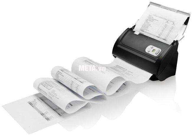 Máy scan Plustek PS3060U có khả năng quét đơn giản và nhanh chóng