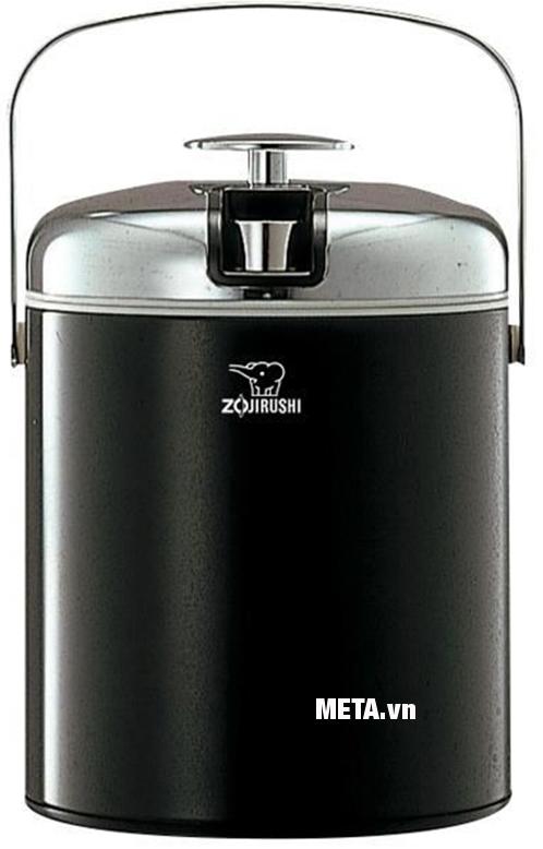 Bình đá Zojirushi ZOBD-BJC-1300 với màu đen cá tính.