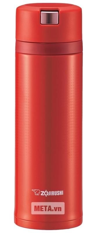 Bình giữ nhiệt nóng lạnh Zojirushi SM-XB48 với màu đỏ nổi bật.