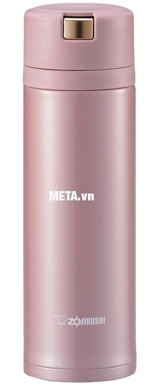 Bình giữ nhiệt nóng lạnh Zojirushi ZOBL-SM-XB36 với màu hồng thật nữ tính.