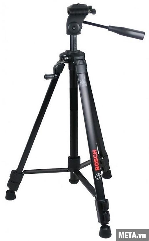 Chân máy laser Bosch Bt 150 với  thiết kế nhỏ gọn.