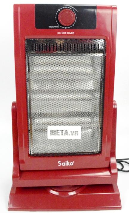 Đèn sưởi halogen Saiko HF-1200 an toàn khi sử dụng.