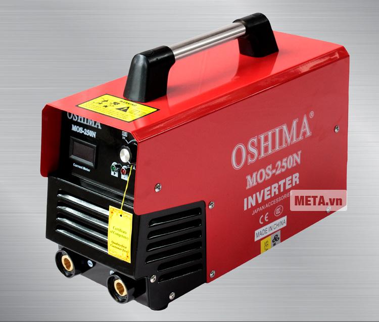 Máy hàn Oshima Mos 250N được thiết kế đơn giản, dễ lắp ráp.