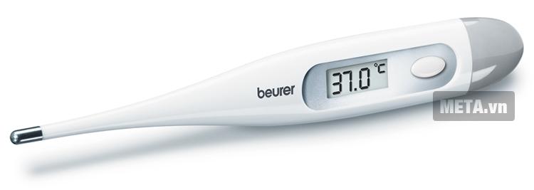 Nhiệt kế điện tử đầu cứng Beurer FT09 sử dụng vô cùng đơn giản.