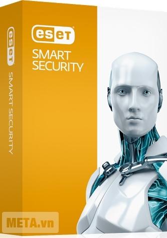 Eset Smart Security - (3 máy / 1 năm) bảo mật mạng tối đa.