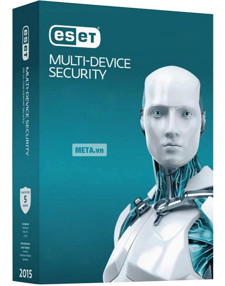 Eset Multi-Device (3 mobile + 3 pc)/1 năm với khả năng bảo mật tuyệt đối.