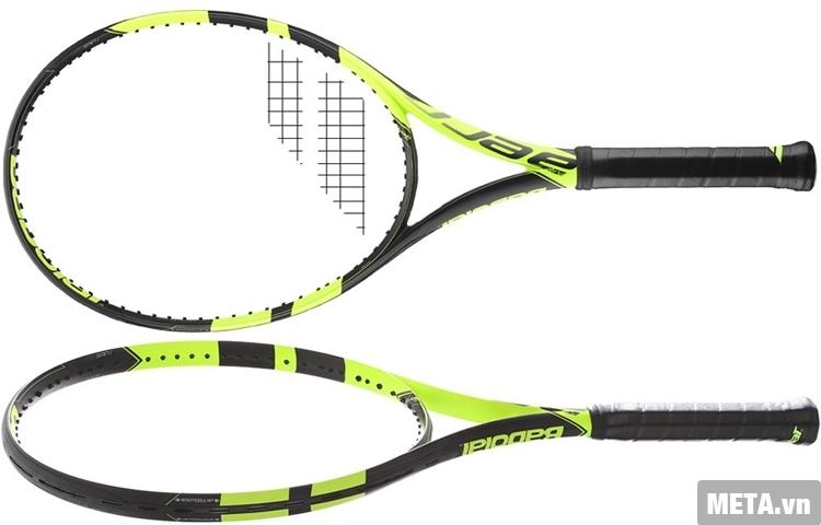 Vợt tennis Babolat Pure Aero Unstring 101253 giúp trợ lực khi đánh bóng tennis.
