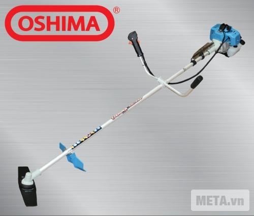 Máy cắt cỏ Oshima TX 330 được thiết kế dễ sử dụng.