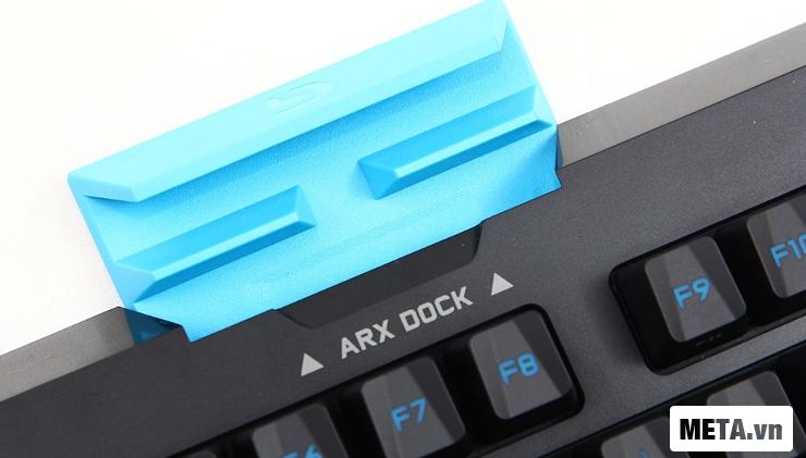 Bàn phím cơ Logitech G310 trang bị ứng dụng Arx Control App thông minh.