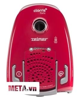Zelmer ZVAC385SA tích hợp bộ điều khiển ngay thân máy nên rất dễ sử dụng.