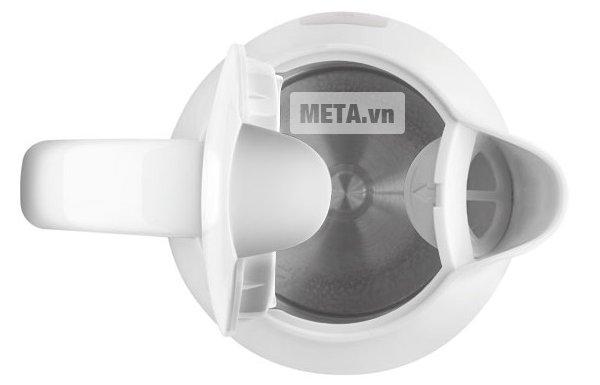 Bình siêu tốc Amica KD 1011 với lớp vỏ nhựa cao cấp.