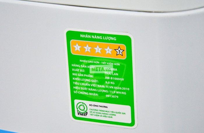 Nguồn gốc xuất xứ và bảo hành của máy giặt Toshiba B1000GV.