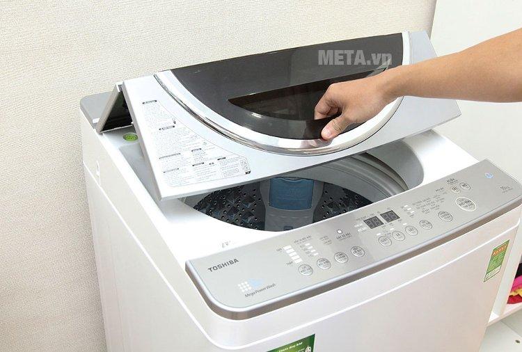 Nắp máy giặt cửa trên 10.5 kg Toshiba ME1150GVWK.
