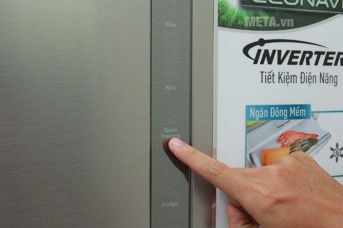 Tủ lạnh được ứng dụng công nghệ làm lạnh mới nhất của Panasonic mang tên Panorama.