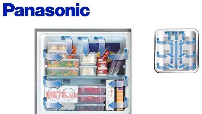 Hệ thống làm lạnh Panorama tiên tiến giúp cho thực phẩm bảo quản vẫn giữ được chất lượng tốt nhất.