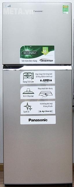 Tủ lạnh Panasonic 234 lít NR-BL267VSVN (267VSV1) với thiết kế tủ lớn.