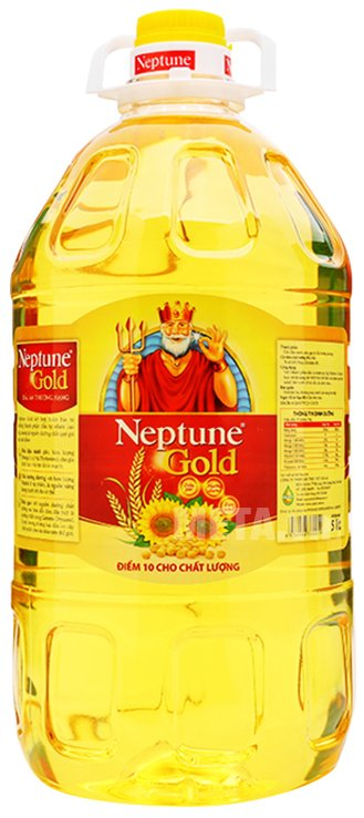 Hình ảnh của dầu ăn Neptune Gold 5 lít