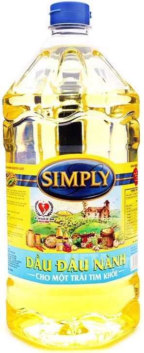 Hình ảnh của dầu đậu nành Simply 2 lít