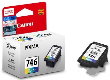Mực in Canon CL 746 -Mực màu được dùng cho các dòng máy in màu của Canon.