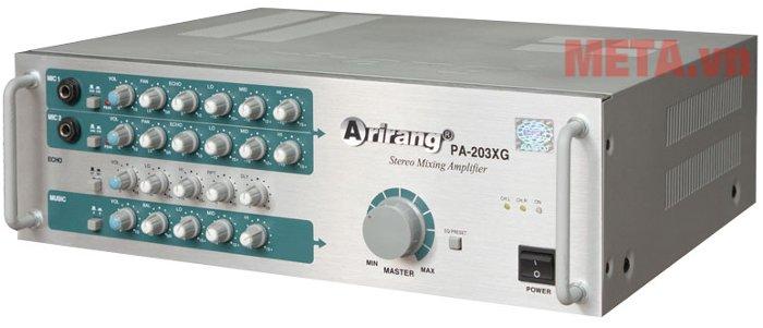 Máy tăng âm Arirang PA-203XG cho chất lượng âm thanh hoàn hảo
