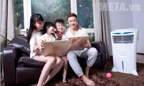 Máy làm mát không khí có thể sử dụng trong nhà và ngoài trời