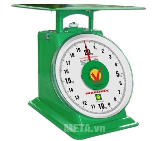 Cân đồng hồ lò xo Nhơn Hòa đảm bảo tính chính xác cao